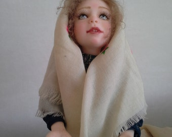Art doll Drippings interior doll collection doll