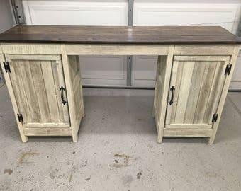 Handmade Custom Rustic Desk