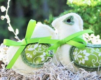 Christmas Decorations Felt Bird Christmas Ornaments Gift for Mom Gift for Women -