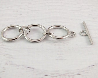 3 Ring Toggle Clasp Extender