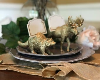 Animal Place Card Holder, Wedding Accessories, Wildlife
