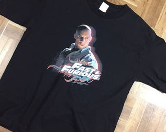 Vintage Fast and Furious Tee Kids XL