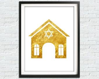 Jewish Wall Art, Jew Printable Art, Jew Home Print, Jewish Gift, Jewish printable, Jewish home Decor, Jewish Art, Star Of David, Judaism Art
