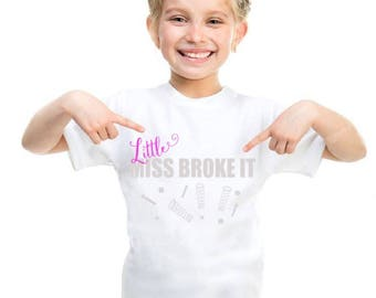 SVG and DXF Mr Fix It -Little miss Broke it-Little Mr Broke it