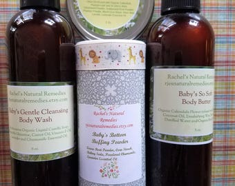 """Baby's Combo Gift Set  """"Rachel's Natural Remedies"""""""