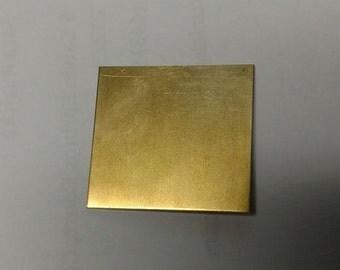Brass sheet 1x3 3x3 6x6, 16 18 20 22 24 gauge