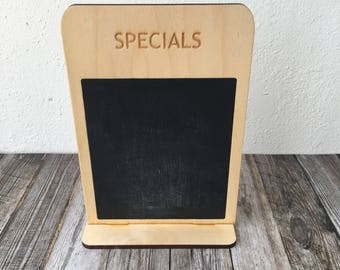 Specials Chalkboard Sign