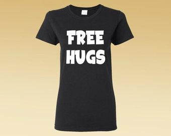 Free hugs shirt | Etsy