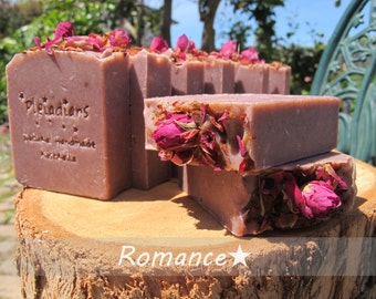 Romance /Australian Pink Clay Soap,Essential Oil Soap,Handmade Soap,Cold process soap,Natural Soap,Cruelty Free,Pleiadians Handmade