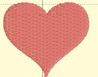 1 inch heart