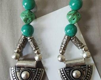 Tribal Arrow Hook Earrings