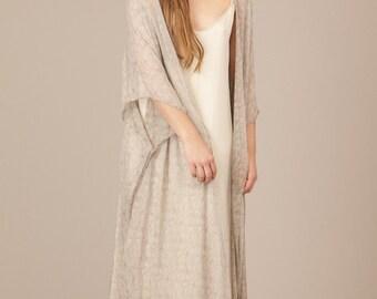 Long Silk Shawl.
