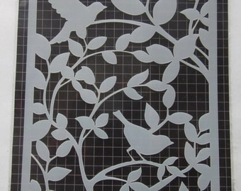 Reusable stencil WINGS - country of origin: France