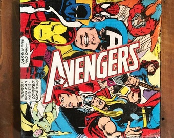 Marvel's Avengers Comic Drink Coaster