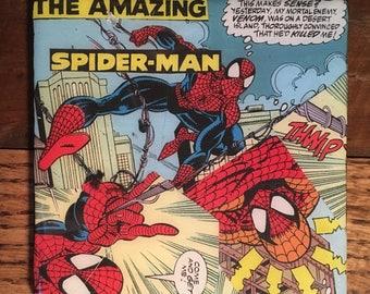 Spiderman Comic Drink Coaster