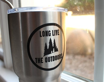 Long Live The Outdoors Vinyl Decal/Sticker