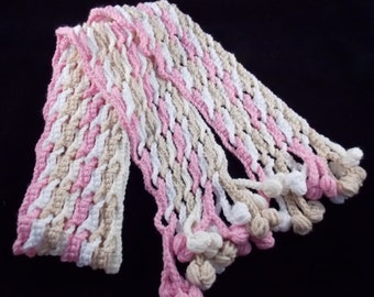 Wavey Crochet Scarf