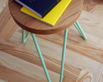 stool with hairpin legs, awesome quality