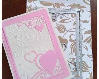 Heart Overlay Cutting Die - Wedding Special thru 5/30