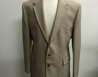 Vintage 1970s Levi's Western Wear Jacket Sz. 44L