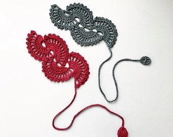 crocheted bookmark / gehäkeltes Lesezeichen