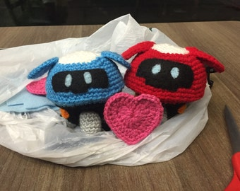 Overwatch: Mei's Robot Crochet Plush