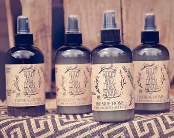 room fragrance, room spray, odor removers, odor eliminator, air freshener, best linen spray, air freshener spray, highly scented, hand made