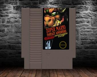 Super Mario Fantasy Adventure - Super Mario RPG for the NES) - NES