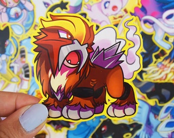 Entei Sticker