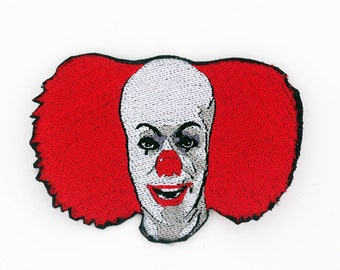 Pennywise the Clown Patch, Stephen King's IT, Pennywise The Dancing Clown, Horror Patch, Modern Monster Patch, Clown Horror Movie Tim Curry