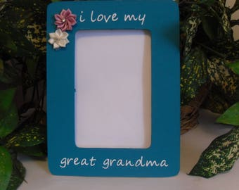 grandma photo frame great grandma frame personalized frame frame for grandma grandma gift mothers day gift great grandma gift