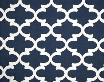 SALE! -  Navy Blue Valance - Window Valance - 50 x 16 Valance - Kitchen Valance - Valance - Bedroom Valance - Window Treatment