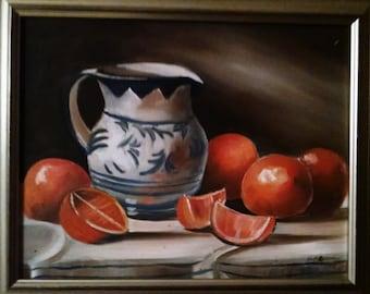 still life oil painting original