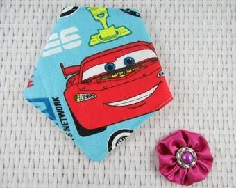 Cars Bandana bib, Dribble bib, Baby bibs, Baby fashion bibs