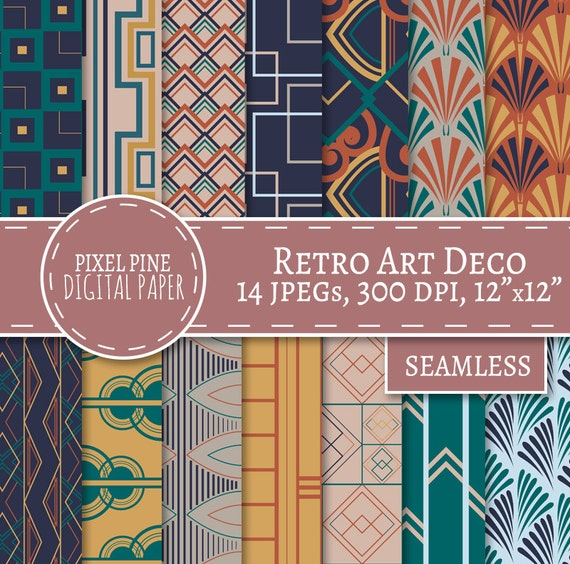 Colorful Art Deco Patterns