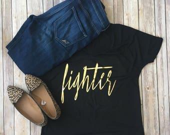 Fighter - Cancer Shirt