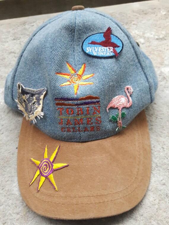 XMAS Sale! Buy 1 Free 1 Rare Vintage Tobin James cap Adjustable