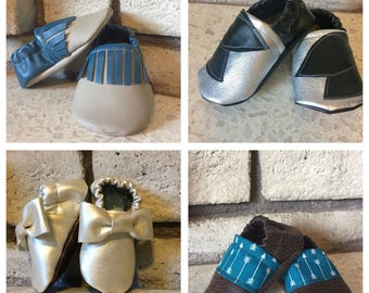 CUSTOM made soft-sole baby shoes // made to order