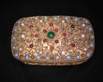 Antique Jewelled Snuff Box