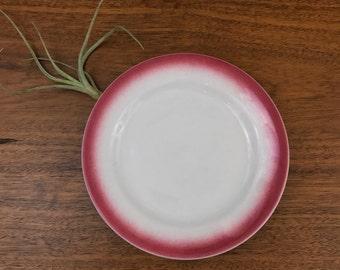 Shenango Pink Rimmed Side Plate
