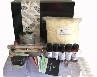 Deluxe Candle Making Kit with New Fragrances