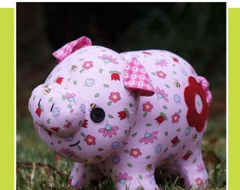 Oink Oink the Pig Toy Pattern by Melly & Me