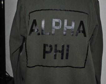 Alpha Phi Sweatshirt