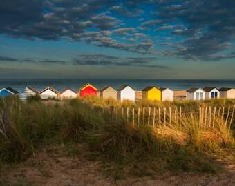 Beach huts, Southwold, UK