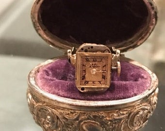Vintage Jules Jurgensen Watch Ring