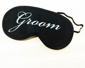 Gift for Groom Sleep Mask Eye Masks for Sleeping Wedding Gift for Couples Night Mask Eye Sleep Mask Eye Cover Groomsmen Gift