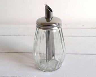Vintage glass sugar castor (1)
