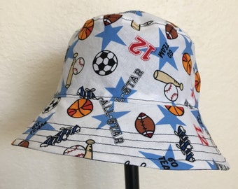 All Star Sports Bucket Style Sun Hat for Babies and Kids!