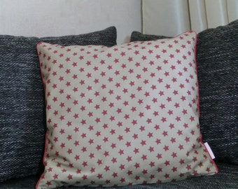 "Cushion cover 50 x 50 cm ""Red Star"""