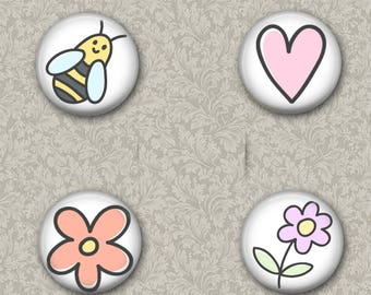 Sweetest Things 1inch Badges